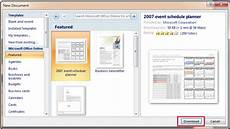 Template Microsoft Word 2007 Where To Save Download And Install Template In Word 2007