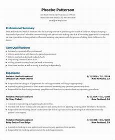 Medical Assistant Pediatric Jobs 7 Senior Administrative Assistant Resume Templates Pdf