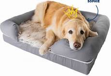 Sofa Style Orthopedic Pet Bed Png Image by The Best Orthopedic Bed Faux Fur Memory Foam Bed