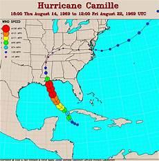 Hurricane Camille Tracking Chart Other Hurricane Track Maps