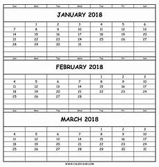 Calendar Template 3 Months Per Page July 2018 Template Calendar Design