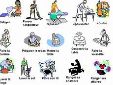 Les Taches Menageres Les Taches Menageres Teaching Resources