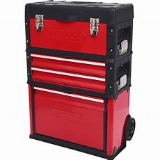 Ks Tools Werkzeugkasten ks tools fahrbarer kunststoff stahlblech werkzeugkasten