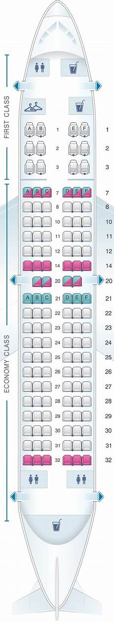 United Airlines Boeing 737 Seating Chart Seat Map United Airlines Boeing B737 700 Version 2
