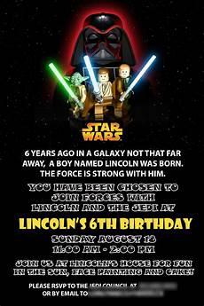 Star Wars Birthday Party Invitations Starwars Birthday Invitation Star Wars Birthday Party