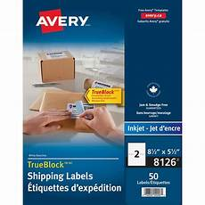 Avery Products Avery Inkjet Shipping Labels Perf Sheets Ld Products
