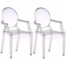 set of two zuo baby anime transparent armchairs