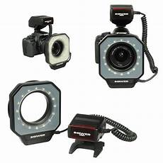 Flash Light For Canon Camera Led Macro Ring Flash Light For Canon Nikon Pentax Olympus