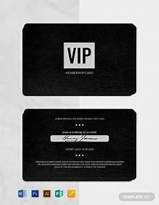 Free Membership Cards Free Membership Card Template Word Doc Psd