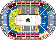 Td Garden Hockey Seating Chart Nhl Hockey Arenas Td Garden Home Of The Boston Bruins