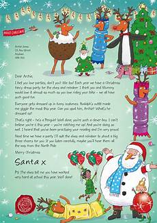 A Letter From Santa Template Make Memories With Your Kids The Nspcc Personalised Letter