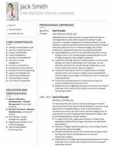 Executive Cv Example The 10 Best Executive Cv Examples