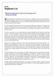Bio Essay 021 Essay Example Autobiography Personal Profile Examples