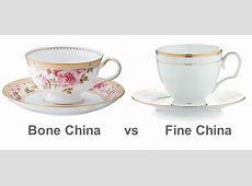Difference between bone china and fine china   Noritake