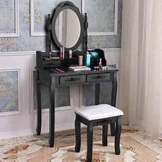 shop makeup vanity with lighted mirror dressing table