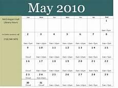 Calnder For 2010 April 2010 Mcentegart Hall S Blog
