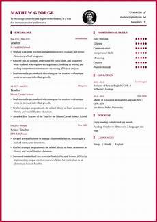 Resume Samples For Teacher Best Career Objective For Teacher My Resume Format