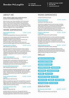 Disney Resume He Scored A Job At Disney We Analyzed His Resume To See How