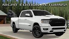 2020 Dodge Ram 1500 by 2020 Ram 1500 Edition And Rebel Black Package