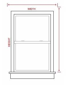 Window Measurements Measuring Guide For Blinds Amp Shades Lowe S Custom Blinds