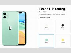 iPhone 11 Pricing Starts at $979 in Canada   iPhone in