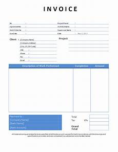 Construction Invoice Template Word Contractor Invoice Example Template Word Templates At