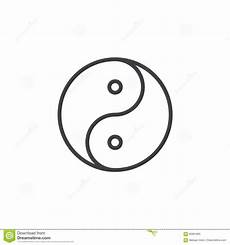 yin und yang zeichnen ikone entwurfsvektorzeichen das