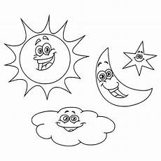 Malvorlagen Sonne Mond Und Sterne Sun And Moon Coloring Pages Getcoloringpages