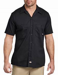 dickies sleeve shirt sleeve industrial cotton work shirt mens shirts