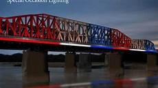 Hernando De Soto Bridge Lights New Lighting Is On The Way For Harahan Bridge And Hernando