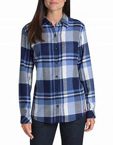 s sleeve plaid shirt dickies