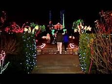 Brookside Gardens Lights Hours Brookside Gardens Light Display In Wheaton Youtube