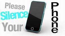 Silence Your Cell Phone Silence Phone Hd Youtube