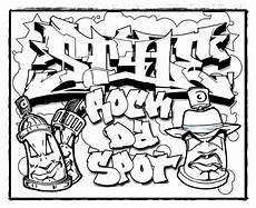 Coole Graffiti Ausmalbilder Coole Graffiti Malvorlagen Graffiti Bilder Graffiti