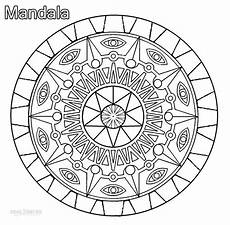 printable mandala coloring pages for