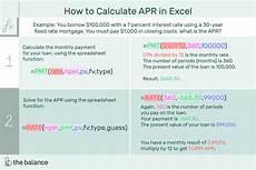 Credit Card Apr Calculator How To Calculate Annual Percentage Rate Apr