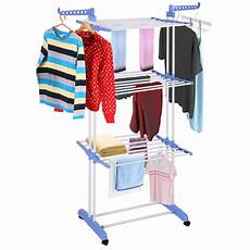 generic 3 tier clothes dryer rack foldable laundry drying