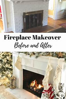 fireplace makeover before and after photos and cost
