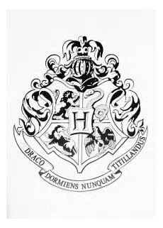 Harry Potter Wappen Malvorlagen Harry Potter Coloring Kit For The Of Harry