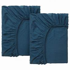 ikea len len fitted sheet for ext bed set of 2 turquoise ikea