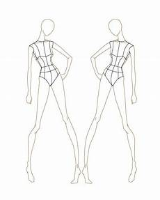 Body Templates For Designing Clothes Fashion Sketch Templates Thinkitpink