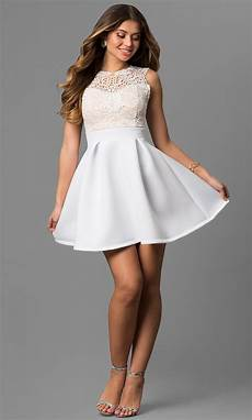 lace bodice graduation dress promgirl