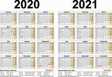 2020 16 Year Calendar Two Year Calendars For 2020 Amp 2021 Uk For Pdf