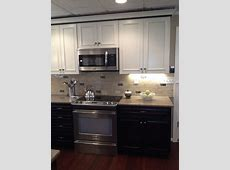 Kraftmaid Kendall Peppercorn and Canvas   Traditional   Kitchen   charlotte   by Lowe's of