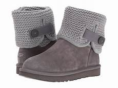 s shoes ugg shaina suede knit cuff boots 1012534