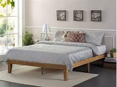 zinus wooden bed frame market maison