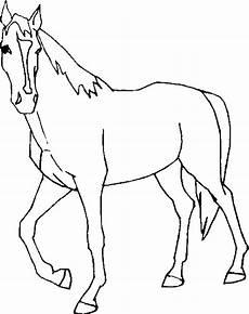 Ausmalbilder Pferde Wendy Pferd