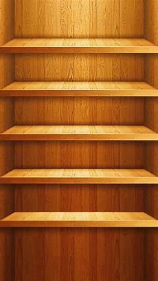 Shelf Wallpaper Iphone 7 by Wood Shelf Illustration Iphone 5 Wallpaper Hd Free