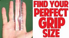Tennis Racket Grip Size Chart How To Measure Tennis Grip Size Top Speed Tennis Youtube