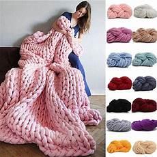 knit diy 250g fashion bulky diy knitting blanket hats